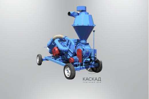 Пневматический транспортер зерновых ПТЗ-50-Т  (привод от ВОМ)
