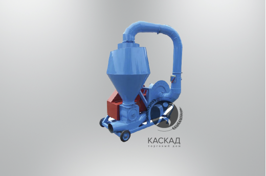 Пневматический транспортер зерновых ПТЗ-40-Т  (привод от ВОМ)