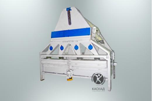 Сепаратор зерноочистительный БСХ-150 (с питателем и пневмоканалами 2шт на маш.)