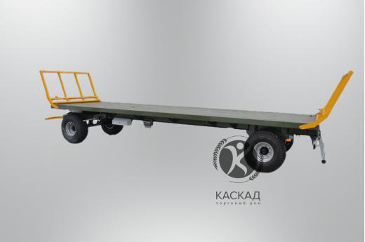 Прицеп-платформа для перевозки тюков ПП-9/2